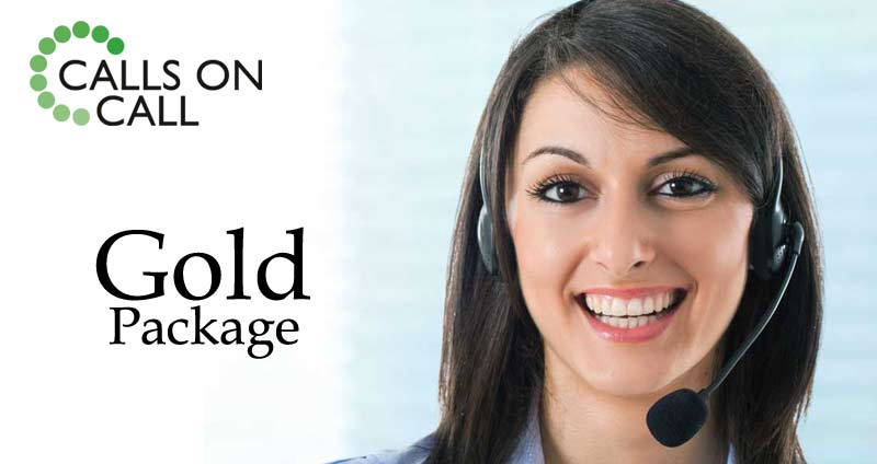 Gold Call Answering Package